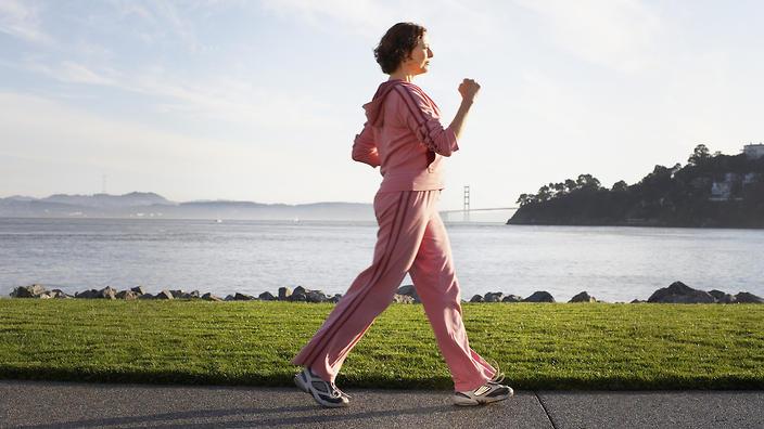 طريقة المشي الصحيح لإنقاص الوزن